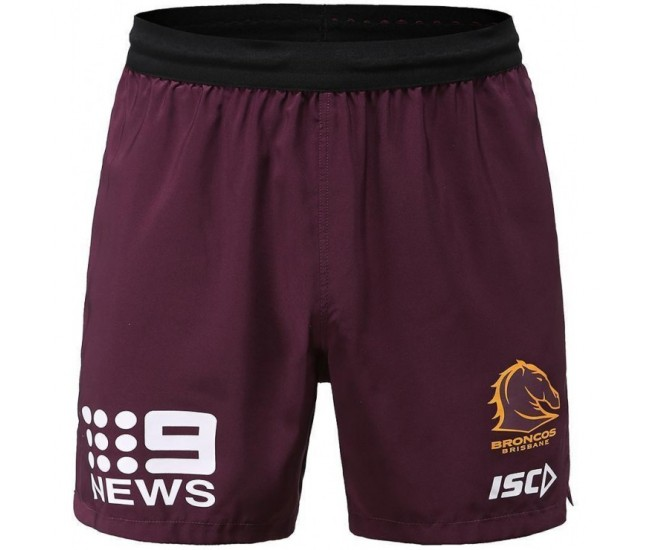 Brisbane Broncos 2020 Men's Training Shorts