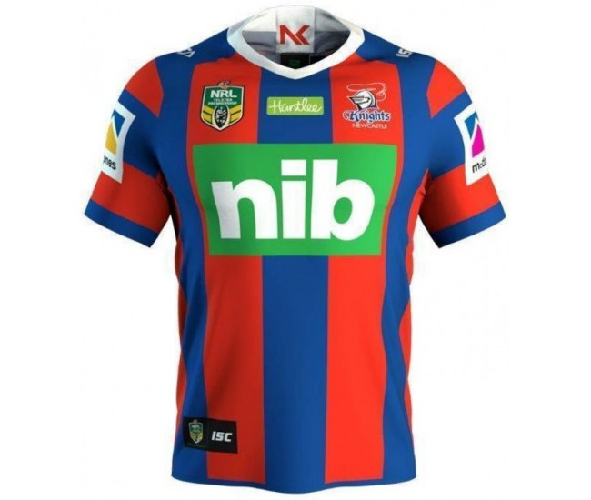 Newcastle Knights 2018 Men's Home T-Shirt