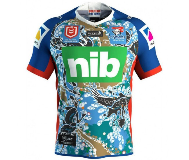 Newcastle Knights 2019 Men's Indigenous T-Shirt