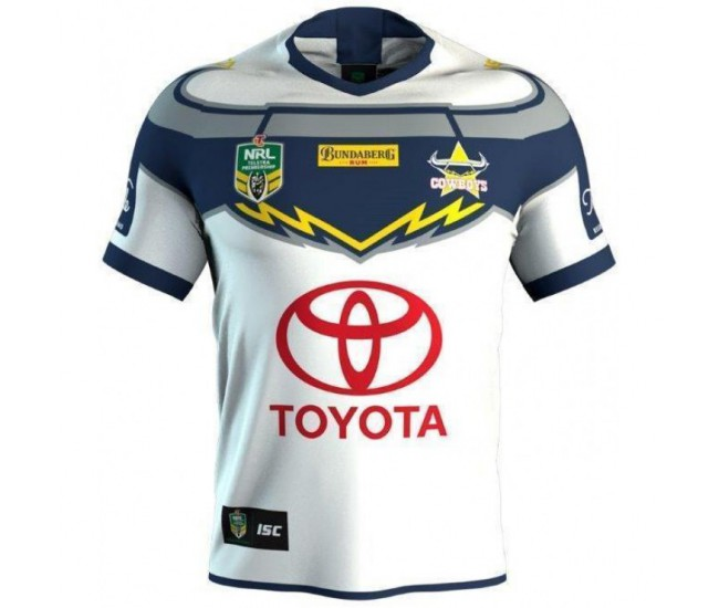 North Queensland Cowboys 2018 Men's Away T-Shirt