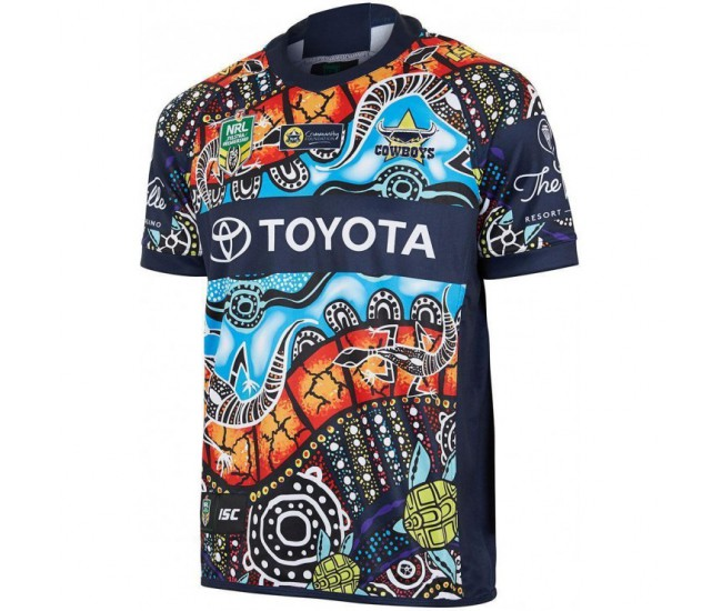 North Queensland Cowboys 2018 Men's Indigenous T-Shirt