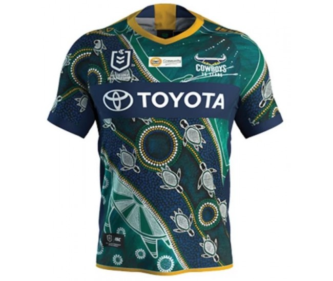 North Queensland Cowboys 2020 Men's Indigenous T-Shirt