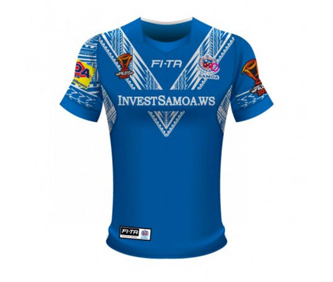 Samoa Rugby League World Cup 2017 Home T-Shirt