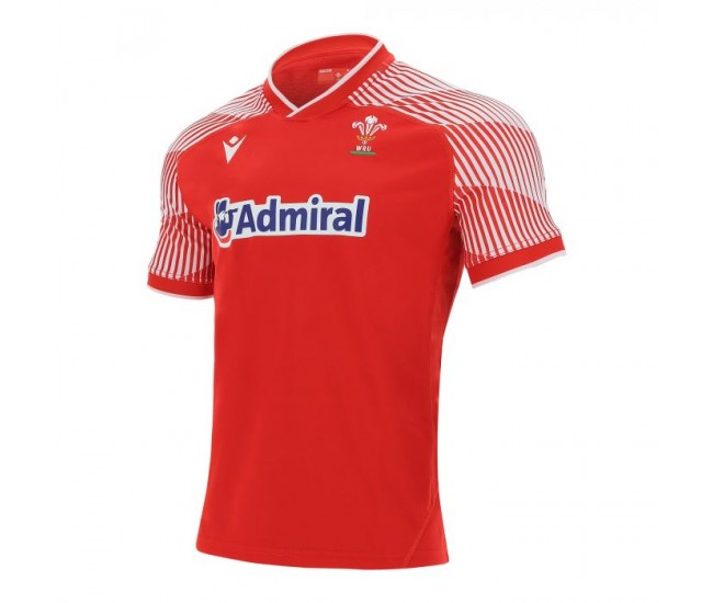 Welsh Rugby Pathway 2021 Home T-Shirt