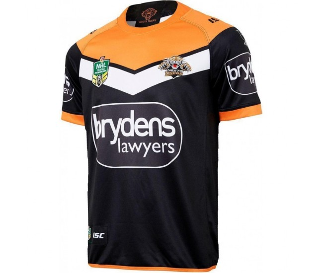 Wests Tigers 2018 Men's Home T-Shirt