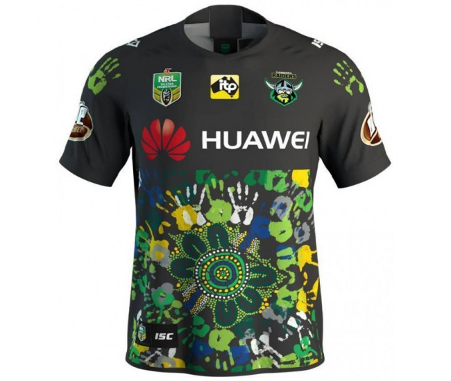 Canberra Raiders 2018 Men's Indigenous T-Shirt