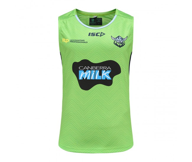ISC 2021 Canberra Raiders Training Singlet